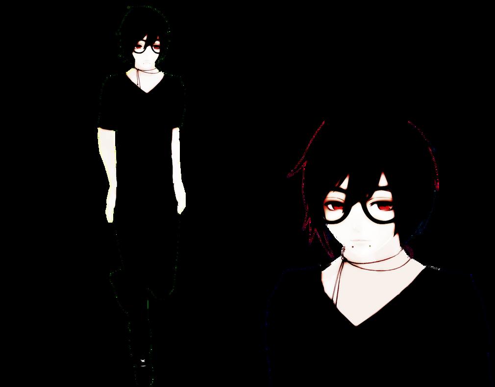 OC: Ryuu Tsuji (Self Model) by MayumiSasaki on DeviantArt
