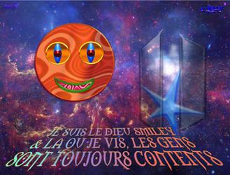 Je suis le Dieu Smiley center by Chalory