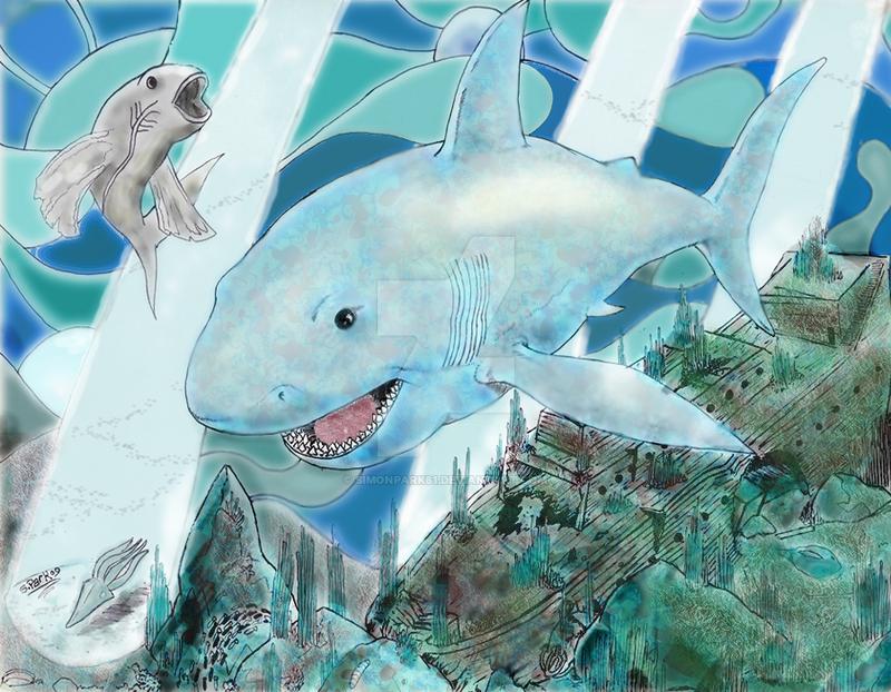 Ocean Scene by simonpark81