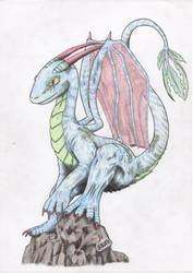 Dragon for Drerika by simonpark81