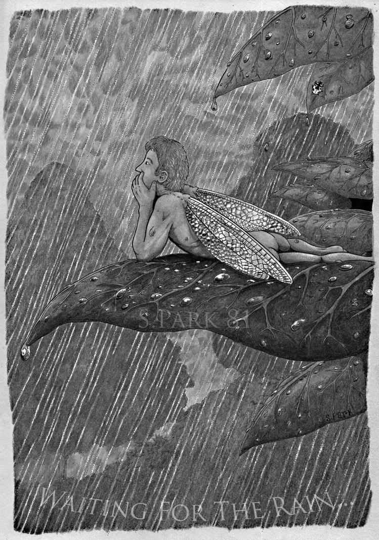 Waiting For The Rain... B/W by simonpark81