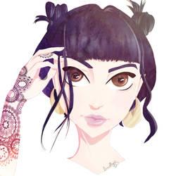 tatto girl by emillyn-alcarria