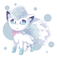 Floofy White Vul