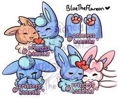BlueTheFlareon's Emotes! [NOT FOR USE]