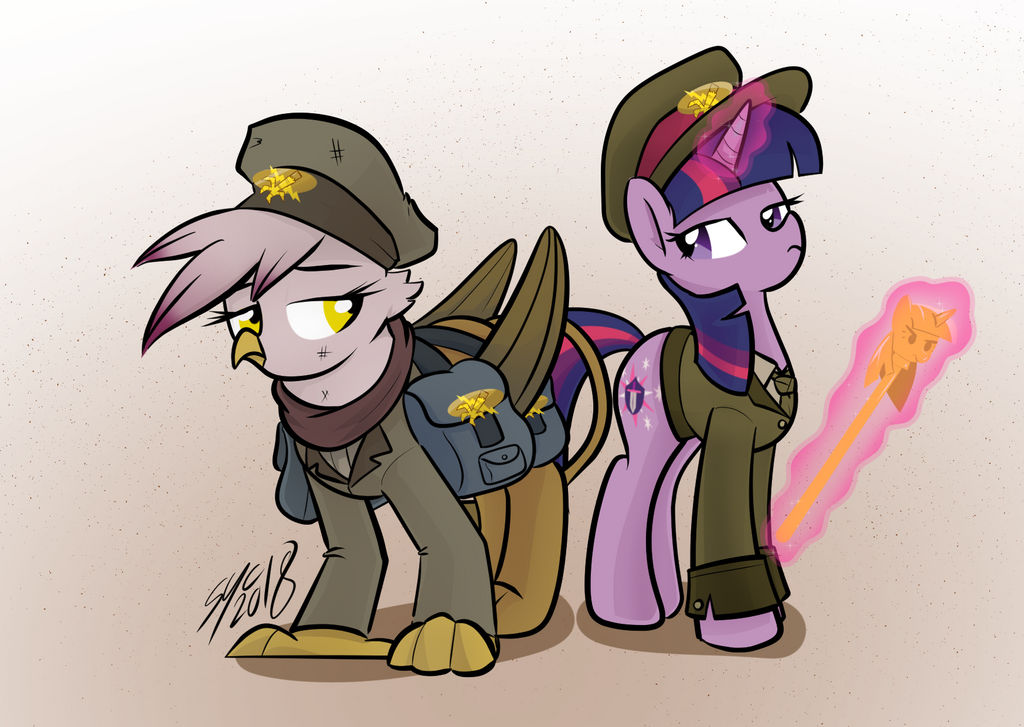 Commission: Good Trooper Gilda by ChrisTheBlue