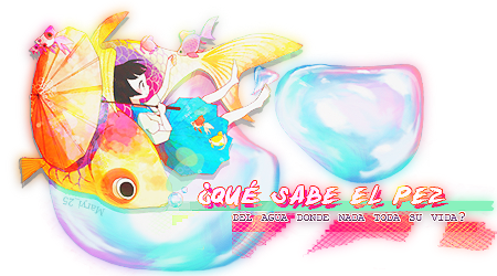 Firma Agua dulce by littledevilcafe