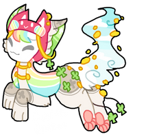 Over The Rainbow Tranceling AUCTION by celexte