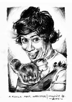 Koala with Harry Styles