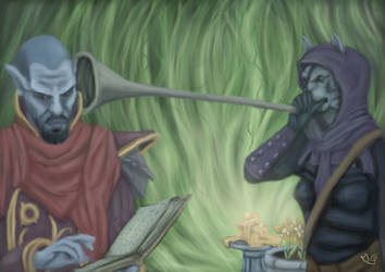 Neloth's New Apprentice by MGuillon