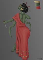 Mantis concept art by MGuillon