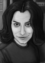 Marjane Satrapi Study by MGuillon