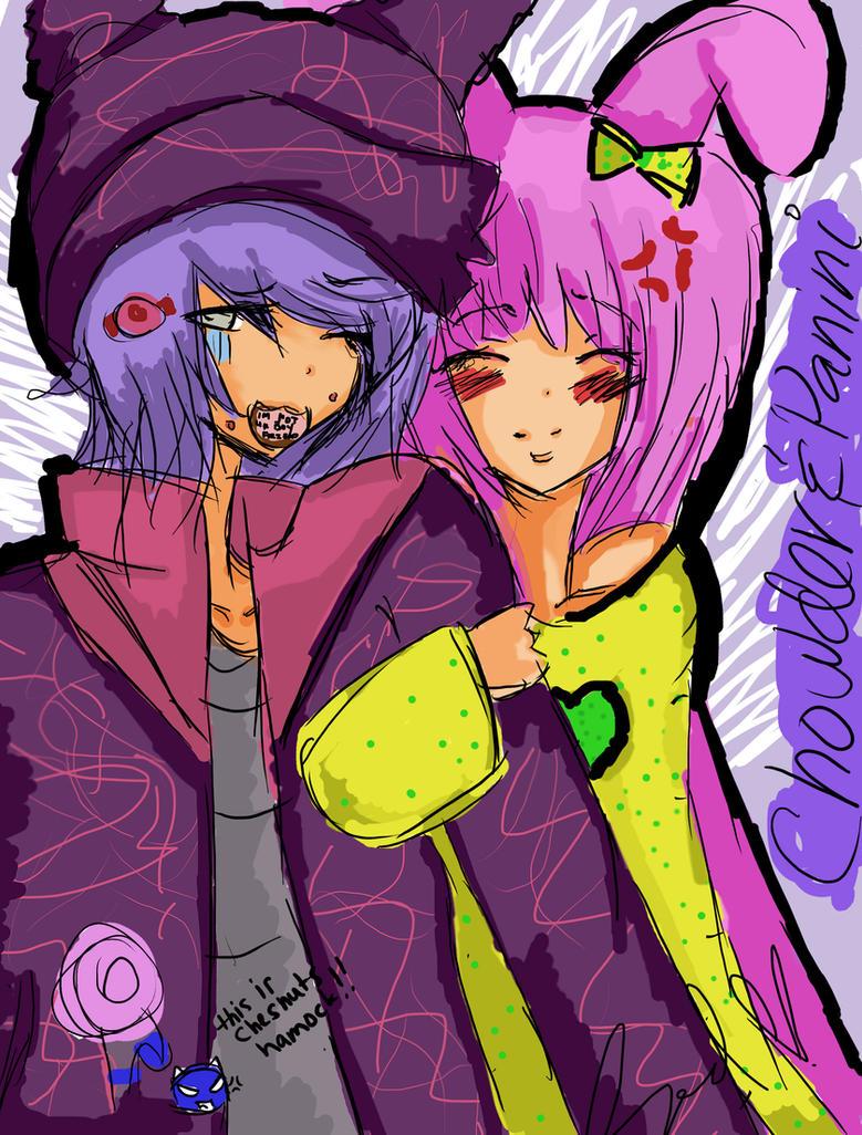 Chowder and Panini 16 yrs old by Yuuramokoyo15