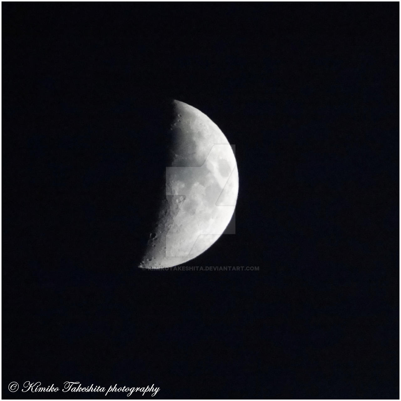 . Moon I . by KimikoTakeshita