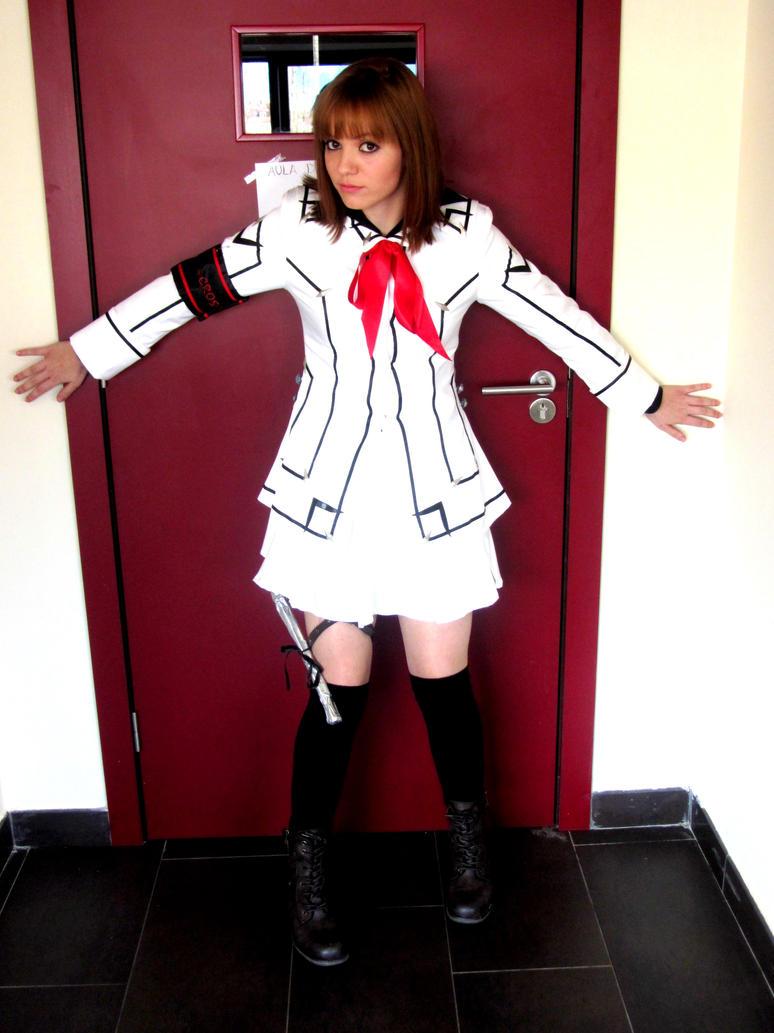 Yuki Cross cosplay white uniform(Vampire Knight) by Ychigo ...