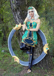Qiyana from League of Legends Cosplay