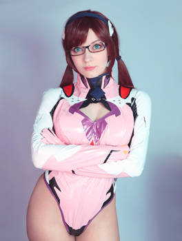 Mari Makinami Cosplay from Rebuild of Evangelion
