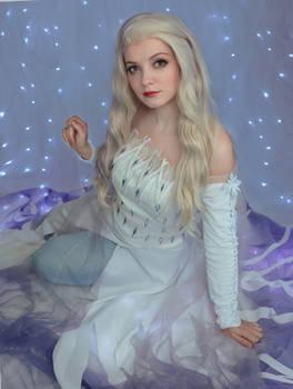 Elsa Spirit dress Cosplay from Frozen II