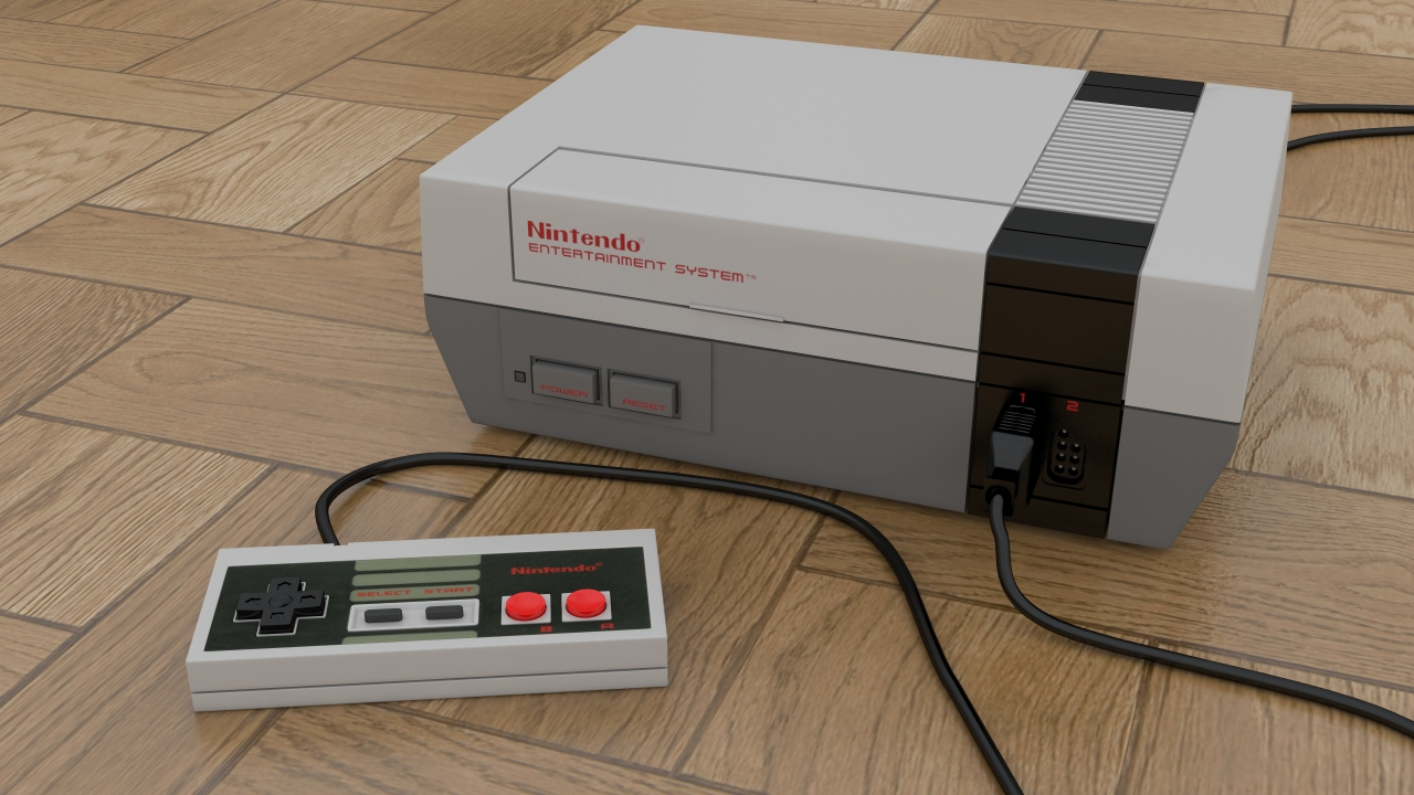 nintendo entertainment system nes by marty mcfly on. Black Bedroom Furniture Sets. Home Design Ideas