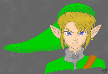 Adult Link by Marty--McFly
