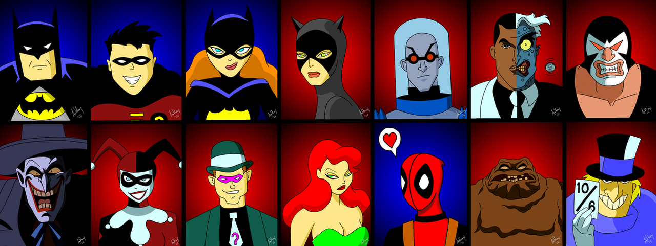 Batman The Animated Series Gallery by Marty--McFly on ...