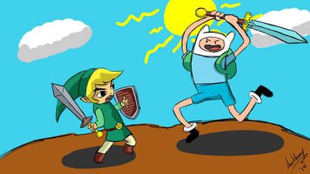 Link vs Finn