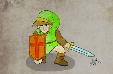 Link Colored by Marty--McFly