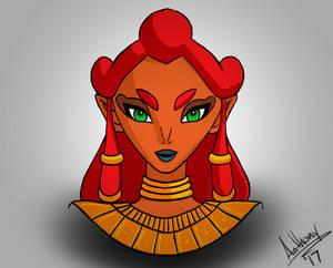 Mystery Girl Legend of Zelda Breath of the Wild
