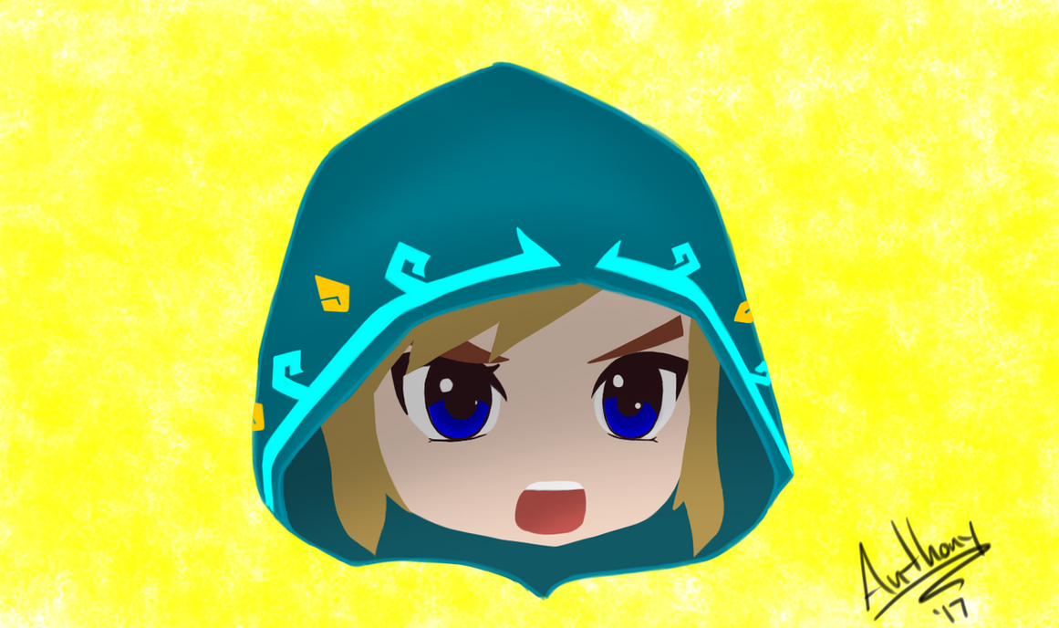 Link Breath of the Wild Chibi by Marty--McFly