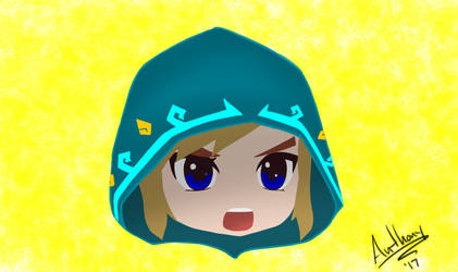 Link Breath of the Wild Chibi