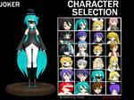 Silent Song Character Selection - Joker