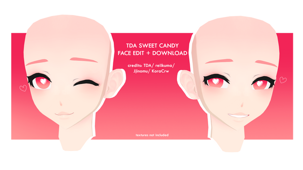 TDA - SWEET CANDY FACE EDIT + Download