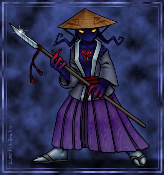 Heartless Ashigaru by nachtwulf