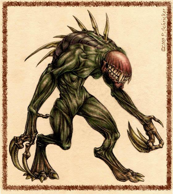 Sewer-Stalker by nachtwulf