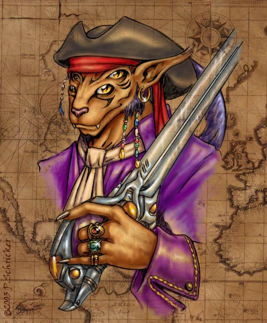 Captain Gareth Halifax by nachtwulf