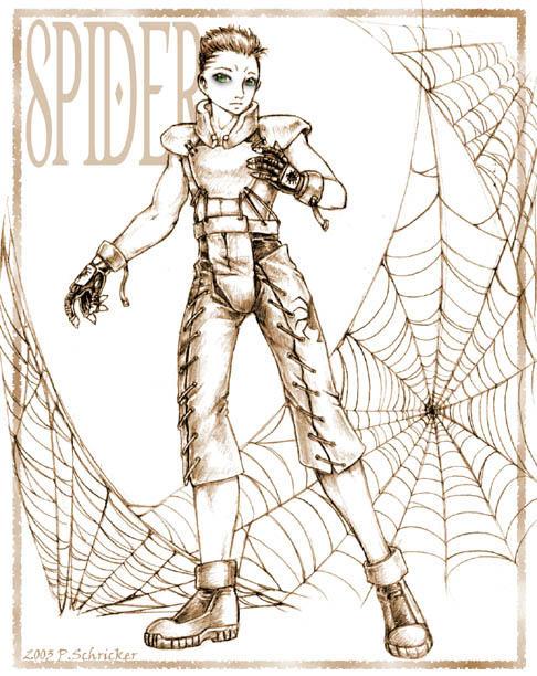 BGM - Galerian Spider by nachtwulf