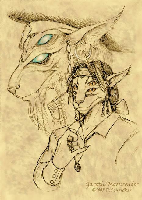 CC - Gareth Sketch by nachtwulf
