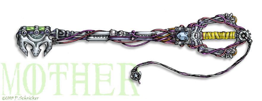 Keyblade - Mother by nachtwulf