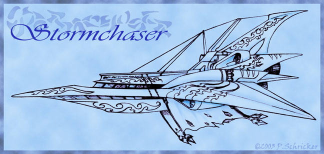 Airship - The Stormchaser by nachtwulf