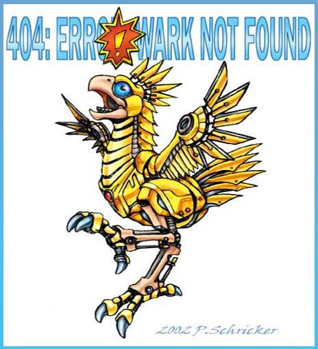 404: WARK NOT FOUND by nachtwulf
