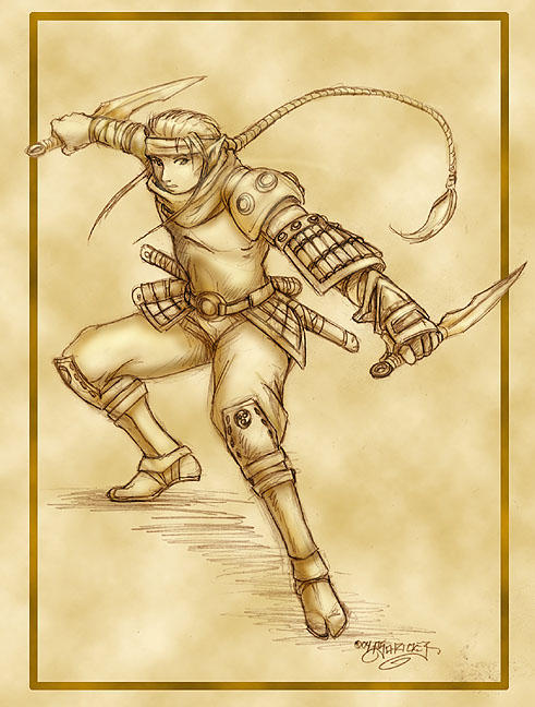 Kamuro Hideki - sketch by nachtwulf