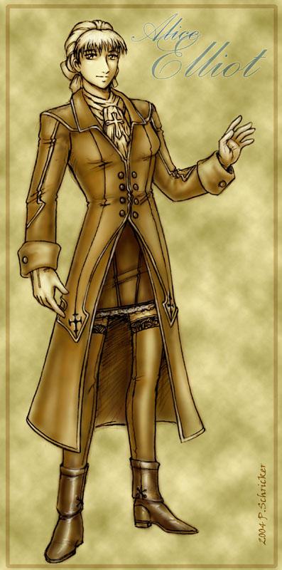 Alice Elliot: Promethean Saint by nachtwulf