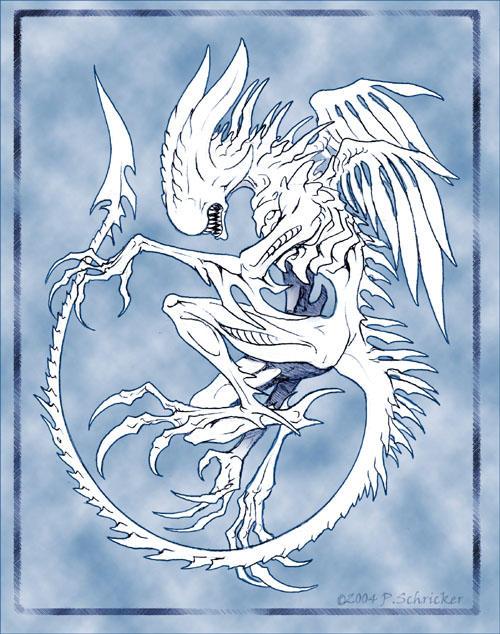Sacred Xenomorph by nachtwulf