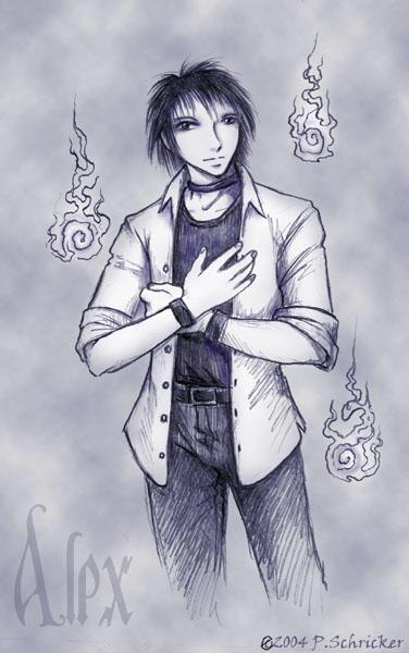 Alex Himuro: Wraith by nachtwulf