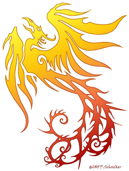 Phoenix:DRAGON:Phoenix by nachtwulf