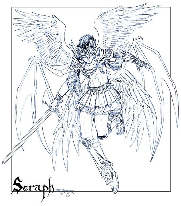 Seraph by nachtwulf