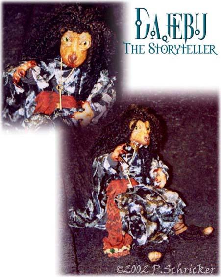 Dajebu the Storyteller by nachtwulf