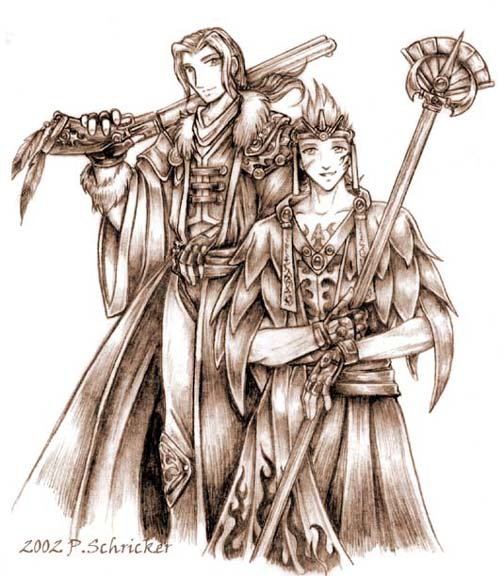 A Summoner and his Guardian