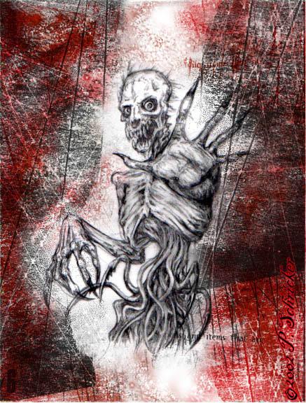 Skeletal Beast by nachtwulf