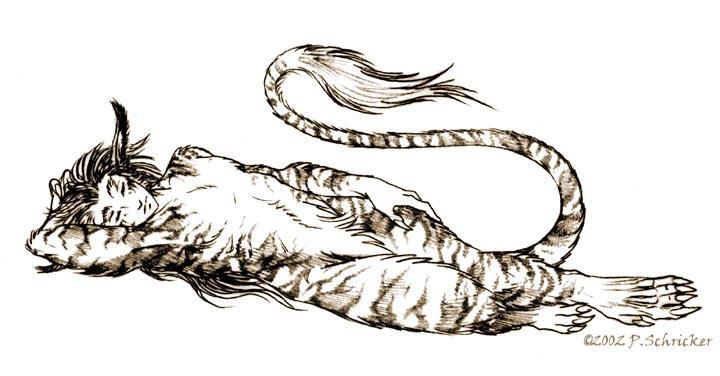 Naptime - Garan by nachtwulf