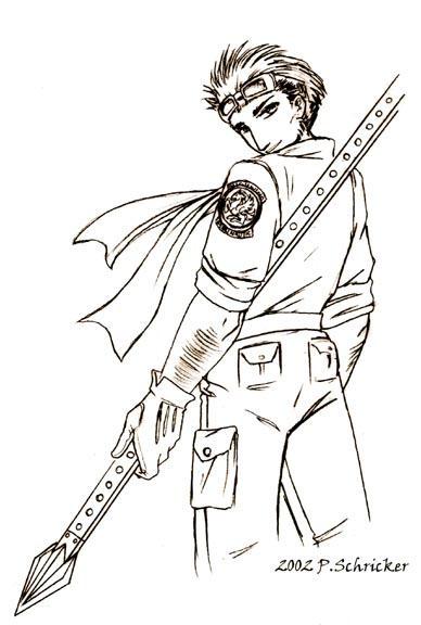 Cid Sketch by nachtwulf